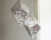 Geometric Crystal Pinata - Glam Bling Wedding Party Decoration