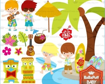 Buy 2 Get 2 Free ---- Summer Vacation Set 1 ---- Personal and Small Commercial Use ---- BB 0370