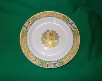 "One (1), 8 7/8"" Luncheon Plate, from W.H.Grindley & Co. in the Wrenbury Pattern."