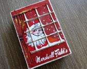 Marshall Field's Truffle Box Christmas w/ Santa Claus