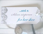 Silver Sixpence for her shoe