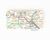 iPhone 5 Case. iPhone 5S Case. iPhone 5C Case. Paris Metro Map. Phone Case. Phone Cases. Case for iPhone 5.