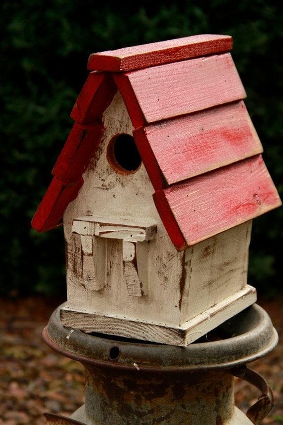 Antique Style Bird House Victorian Bird House Vintage Bird