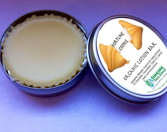 Fortune Cookie Lotion Bar