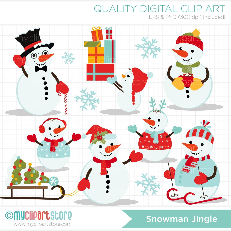 snowman family clip art free - photo #13
