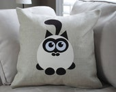 """18""""x18""""  'Adorable Seal Point'  Pillow COVER"""