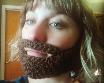 Crochet beards-READY TO SHIP
