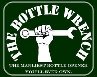 SET OF 4 Small - The Bottle Wrench Bottle Opener