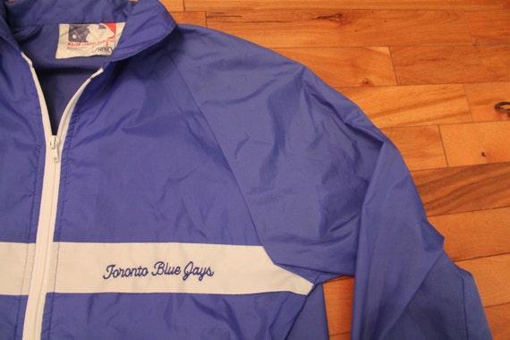 30 toronto blue jays jacket windbreaker 80s vintage mlb