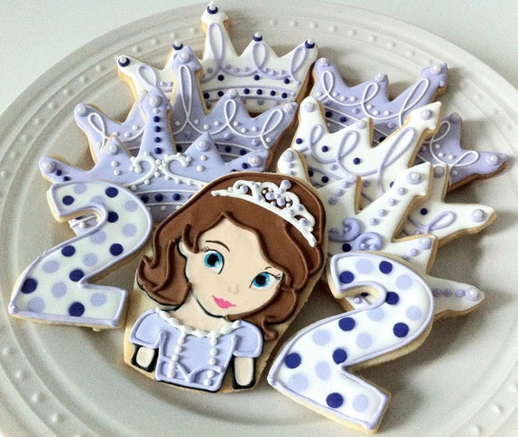 Items Similar To Sofia The First Decorated Character