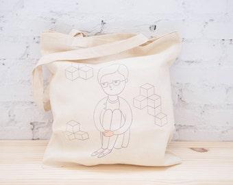 Cotton Tote Bag - Screenprint Tote - Tote - Screenprint - Limited edition - Ecofriendly