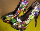 She Hulk Comic Shoes