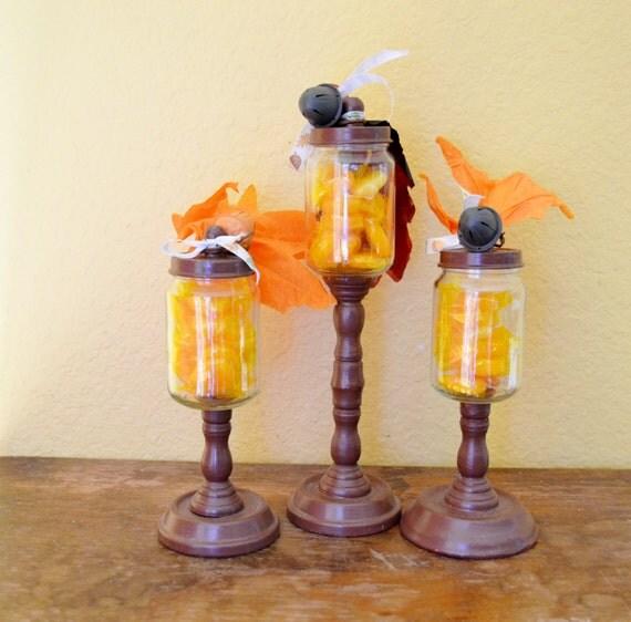 Apothecary Home Decor: Fall Home Decor Apothecary Jars Small Decorative By
