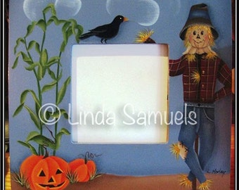 Autumn Watch Picture Frame Tole Painting Pattern