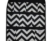 Black Chevron Car Organizer