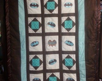 Batman Baby/Toddler Quilt
