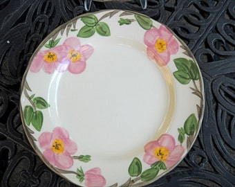 Vintage Franciscan Desert Rose Dinner Plates, Four Available, 1970s and 1950, Selling Individually