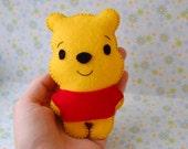 Winnie the Pooh felt plushie