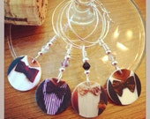 Everyday Calls for a Bow Tie Wine Charms - Set of 4