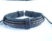 Leather bracelet 024