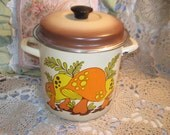 Enamel Ware  Mushroom Pot Sweet / Not Included in Sales Coupon