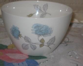 Wedgewood Sugar Bowl or Small Bowl Ice Rose