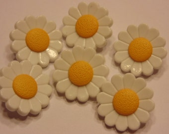 6 daisy buttons, 20 mm (B3)