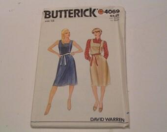 Vintage Butterick Pattern 4069 David Warren Miss Jumper or Dress