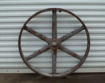 Cast Iron Machine Wheel