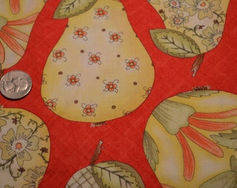 Henry Glass fabric Fruitful Hands by Jacquelynne Steves