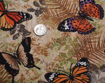 Timeless Treasures fabric BUTTERFLIES