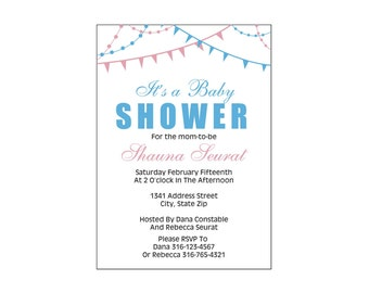 It's a Baby Shower Invite