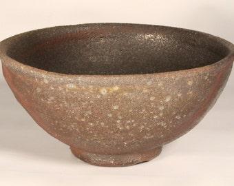 Once-fired Bizen - style Natsu-jawan (Summer Tea Bowl) - 5 Day Anagama 2012