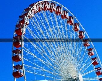 """Chicago """"Wheel in the Sky"""" Fine Art Photograph"""