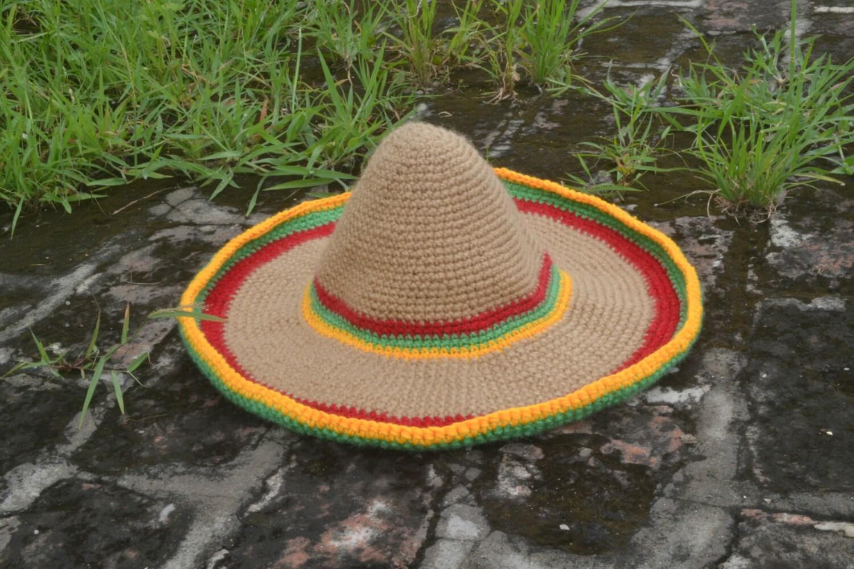 Hat Crochet Pattern Crochet Mexican Sombrero By Thehobbyhopper