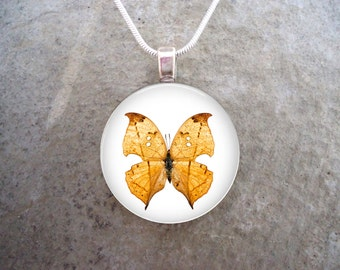 Butterfly Jewelry - Glass Pendant Necklace - Butterfly 30 - RETIRING 2017