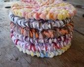 Knit Dishcloth Scrubbie, Kitchen Bath Accessories, Washcloth, Dishcloth, Dish Scrubby, Knit Scrubbycloth, Housewares
