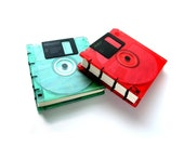 Coloured Floppy Disk Book Pick your Colour