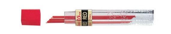 Pentel Leads - RED - 0.5mm