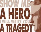 Fitzgerald Tragedy Print