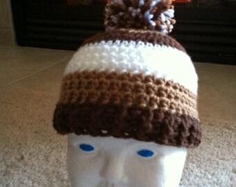 Cocoa Mocha Hat Pattern Newborn to 12 months