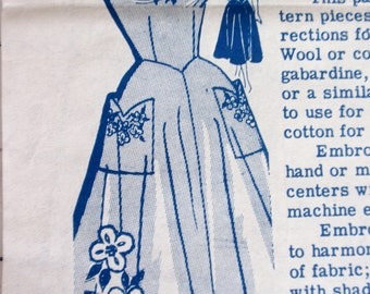 Laura Wheeler Vintage Mail Order Pattern 519 Jumper Sundress