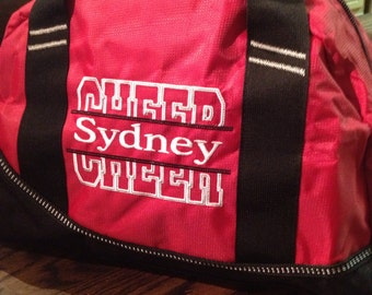 Cheer duffle OGIO Half Dome Duffle that can be monogrammed slightly smaller version duffle