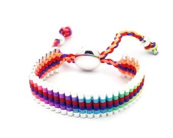 Link Friendship Bracelet - Rainbow Color - (One Direction)