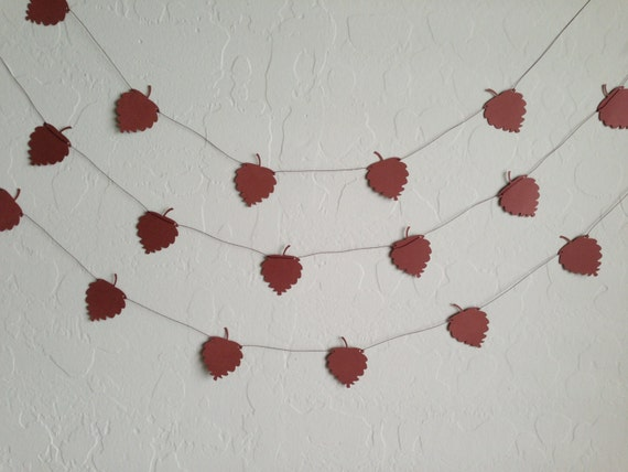 Acorn Garland/Banner, Party Garland, Party Banner, Wedding Garland, Fall Garland, Acorn Banner