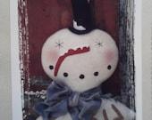 Snowman - 'Drifting Along' craft pattern