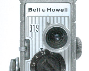 Collectible Bell & Howell Vintage 8mm Movie Camera - 319