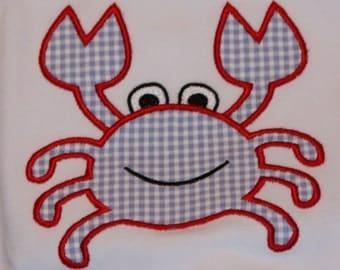 Crab Applique T shirt