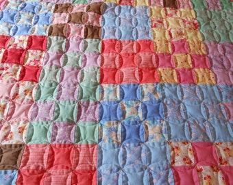 Queen/King-Sized Quilt - 9 Patch
