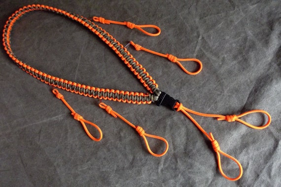 how to make a paracord duck call lanyard